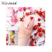 NAIL SKETCH Real Flower Gypsophila Preserved 1ea