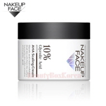 NAKEUPFACE 10% AHA Scaling Cream 50ml