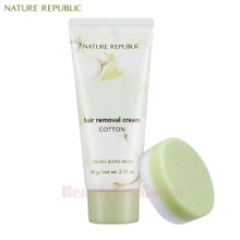 NATURE REPUBLIC Hair Removal Cream Cotton 60g