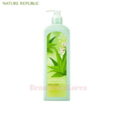 NATURE REPUBLIC Love Me Bubble Shower Gel Fresh Aloe 1000ml