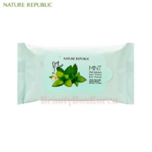 NATURE REPUBLIC Mint Solution Hair Fresh Dry Tissue 10ea
