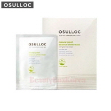 OSULLOC Natural Green Essence Sheet Mask 22ml*5ea