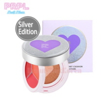 PRPL Kiss & Heart Cushion 1.5g*3+10g [Silver Edition]