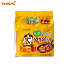 SAMYANG Hot Chicken Flavor Ramen Cheese 140g*4