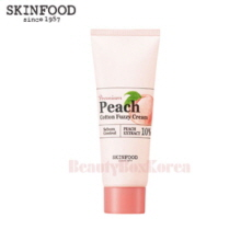 SKINFOOD Premium Peach Cotton Fuzzy Cream 65ml,Beauty Box Korea