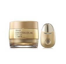 THE SAEM SNAIL ESSENTIAL EX 24K GOLD Cream SET, THE SAEM