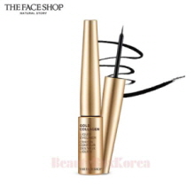 THE FACE SHOP Gold Collagen Liquid Eyeliner No.01 Black 6g