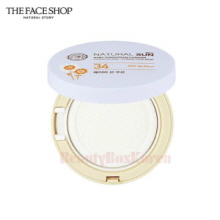 THE FACE SHOP Natural Sun Eco Baby Sun Cushion SPF34 PA++ 15g