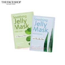 THE FACE SHOP Soothing Jelly Mask 30g,THE FACE SHOP,Beauty Box Korea