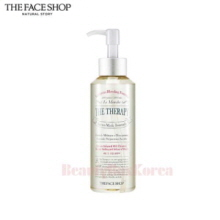 THE FACE SHOP The Therapy Serum in Oil Cleanser 225ml,Beauty Box Korea