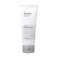 THE FACE SHOP White Seed Exfoliating Foam Cleanser 140ml, THE FACE SHOP