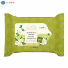 THE SAEM Healing Tea Garden Green Tea Cleansing Tissue 20ea