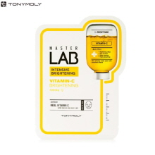 TONYMOLY Master Lab Vitamin-C Mask Sheet 19g (Intensive Brightening), TONYMOLY