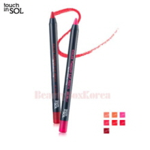 TOUCH IN SOL Color Therapy Lip Pencil Set 1.2g*7ea