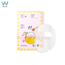 WONJINEFFECT Withbee Honey Bomb Mask 1.5g+1.5g+20g*10ea