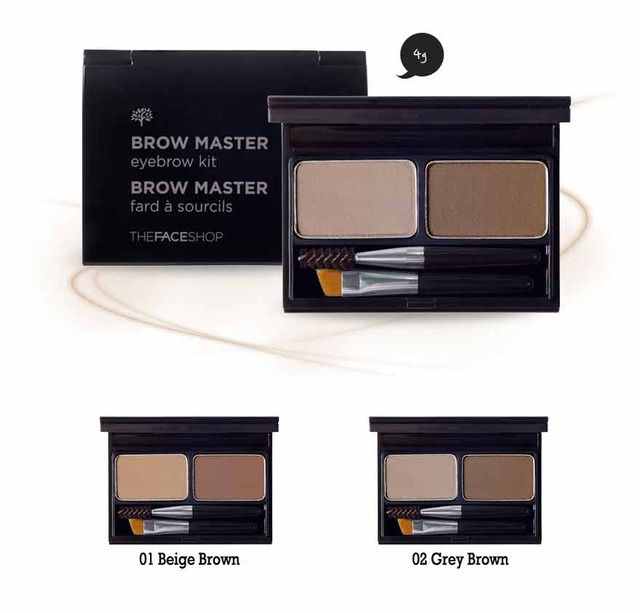 The Face Shop Brow Master Eyebrow Kit 4g Best Price And Fast