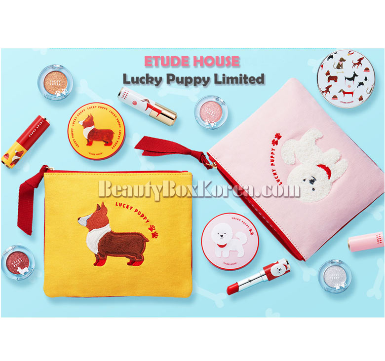 Etude House Lucky Puppy Pouch 1ea Lucky Puppy Collection Best
